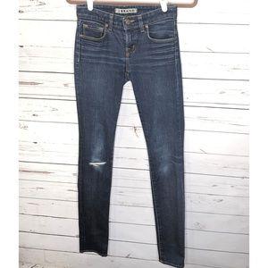 "J Brand | ""Scarlett Pencil Leg"" Dark Wash Jeans"